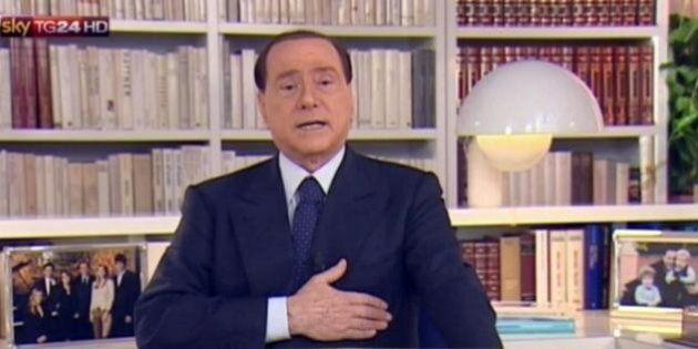 Il videomessaggio di Silvio Berlusconi è poco social. Flop su facebook e twitter (FOTO,