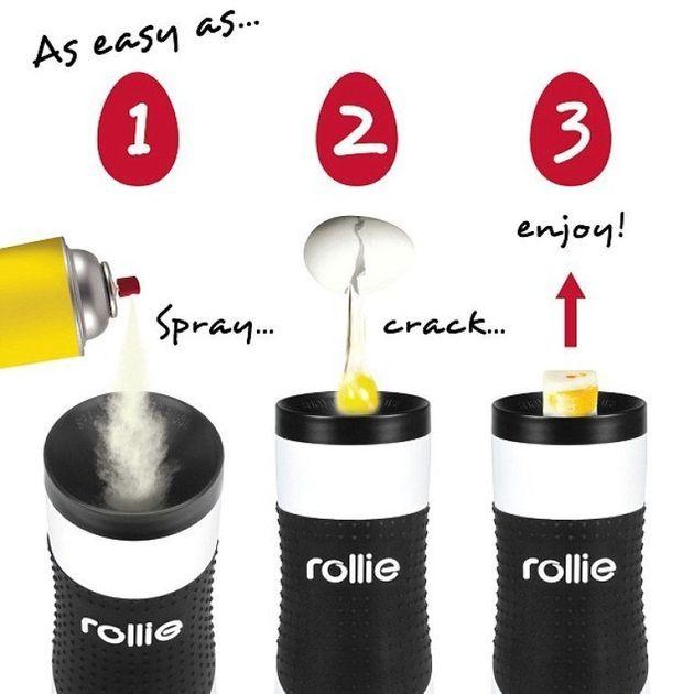 Rollie Eggmaster decreta la fine della frittata. Ecco arrivare gli stecchi di uova