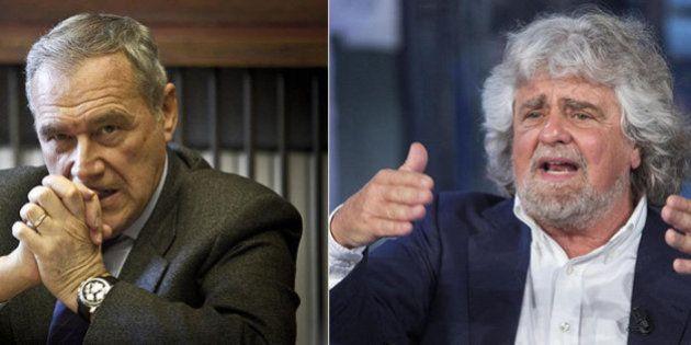 Beppe Grillo, la lettera di Pietro Grasso: