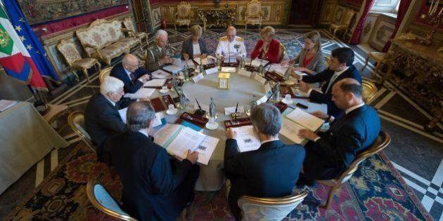 Ucraina, Iraq, Siria, il Consiglio supremo di Difesa: