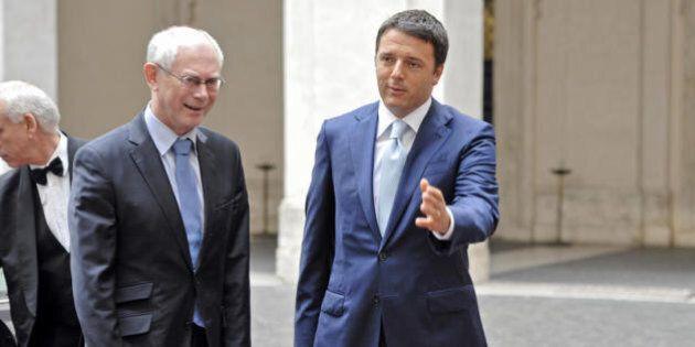 Nomine Ue, Renzi vede Van Rompuy: il suo manifesto per l'Europa prende forma.