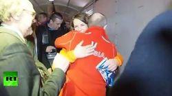 E alla fine l'abbraccio di Putin all'atleta lesbica