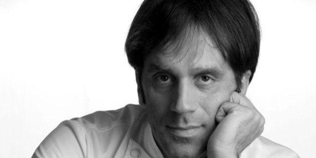Davide Oldani all'Armani Hotel di Milano. Lo chef stellato e la