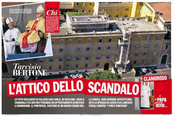 Tarcisio Bertone, nell'attico i lavori sono fermi: fallita l'impresa edile, il cardinale resta senza...