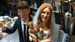 Belen e Stefano nel presepe? a San Gregorio Armeno un artigiano crea una statuetta per il loro matrimonio