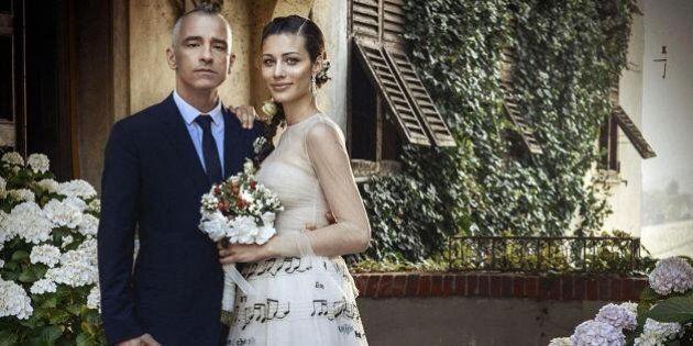Eros Ramazzotti matrimonio con Marica Pellegrinelli: 200 ospiti fra parenti e amici. Lei un abito da...