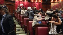Omofobia, la protesta delle associazioni Lgbt all'assemblea
