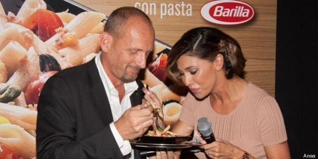 Pasta Barilla nei menu McDonald's. Belen Rodriguez testimonial della collaborazione tra i due marchi