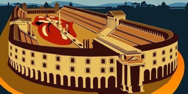 Rolling Stones: solo 7mila euro per l'affitto del Circo Massimo. E scoppia la polemica:
