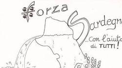 #Forzasardegna! Il disegno di un parroco sardo infonde