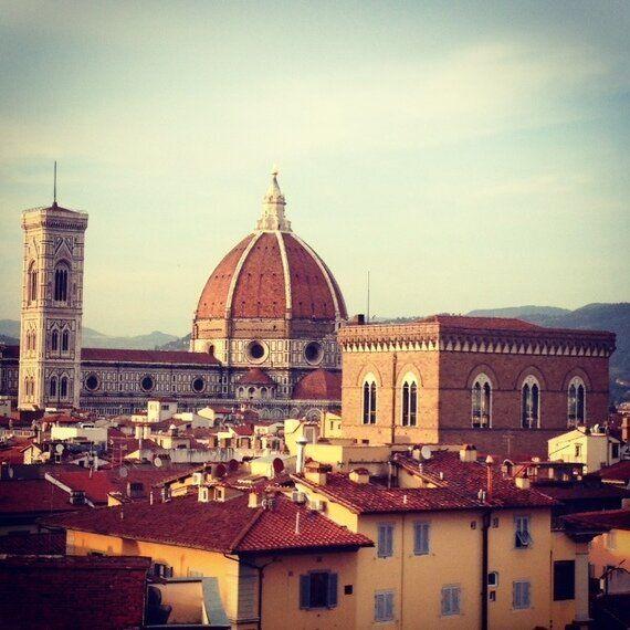 A Firenze con Emmanuel Carrère e Michael