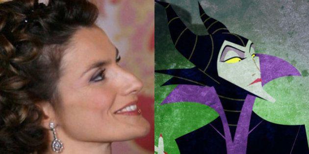 51 personaggi famosi uguali a quelli dei cartoni animati. Letizia Ortiz come Malefica, Tom Cruise come...