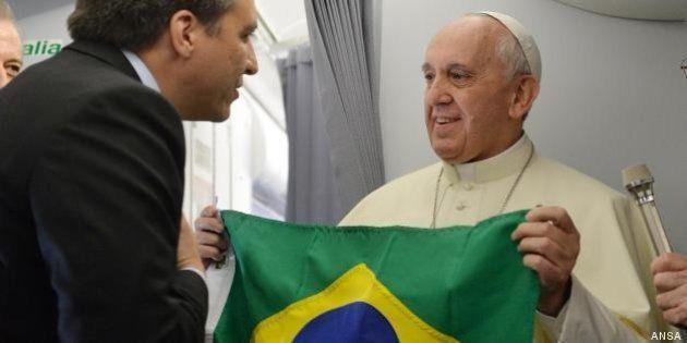 Papa Francesco e Royal Baby: destini televisivi incrociati per un giorno