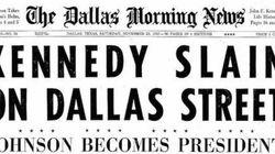 John F. Kennedy, 50 anni dall'assassinio. La notizia sulle prime pagine di allora
