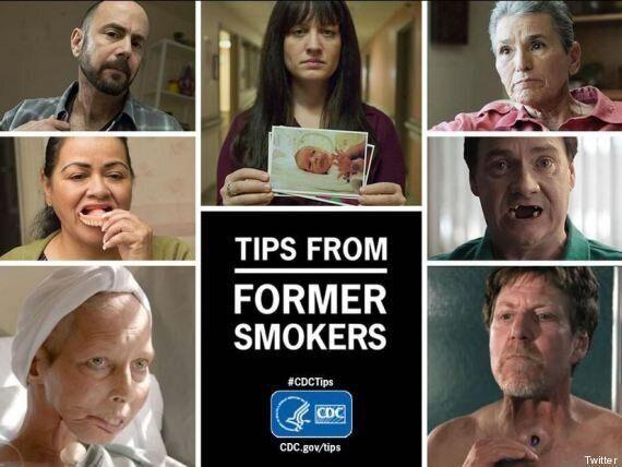 La campagna shock contro il fumo: