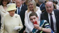Selfie con la regina