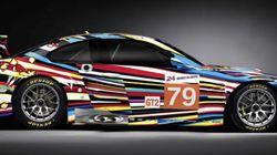 Bmw Art Cars, auto dipinte dai più grandi artisti del mondo. Sulle piste sfrecciano opere d'arte