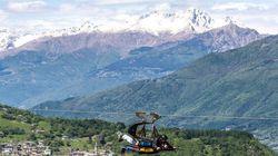 Valtellina, in volo come aquile fra adrenalina, relax e