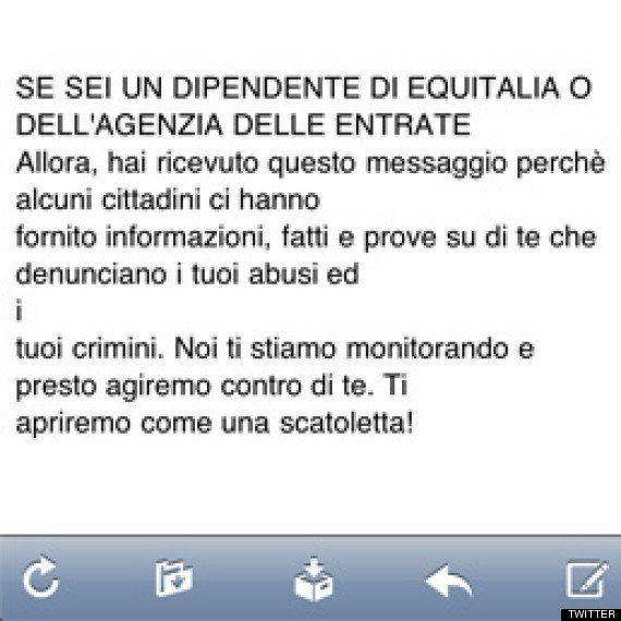 Dalla mail di Beppe Grillo minacce ai dipendenti di Equitalia. La polizia indaga. È un fake?