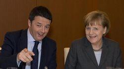 Renzi nella tana della Merkel a caccia di investimenti e sostegno per il semestre di