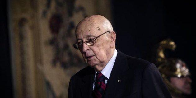 Fiducia governo, l'appello di Giorgio Napolitano: