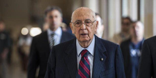 Giorgio Napolitano interviene sul disastro di Ustica: