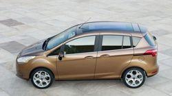 Ford, B-Max è il mav più venduto in