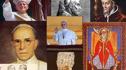 Le foto dei dei 267 Papi della