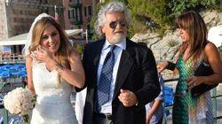 Beppe Grillo e il matrimonio di Valentina a Zoagli (Genova)