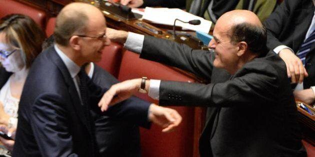 Pier Luigi Bersani lancia Enrico Letta al posto di Van Rompuy: