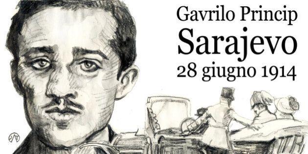 Prima guerra mondiale, oggi il centenario dell'attentato di Gavrilo Princip all'arciduca Francesco Ferdinando