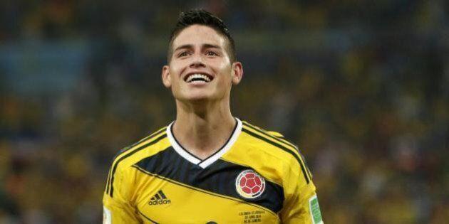Gol James Rodriguez in Colombia-Uruguay. L'esultanza di Fabio Caressa presa di mira su twitter (FOTO,