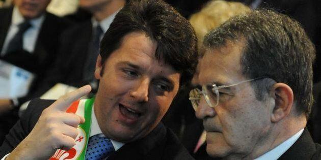 Matteo Renzi incassa l'ok di Romano Prodi, arma per sedare gli attacchi della minoranza