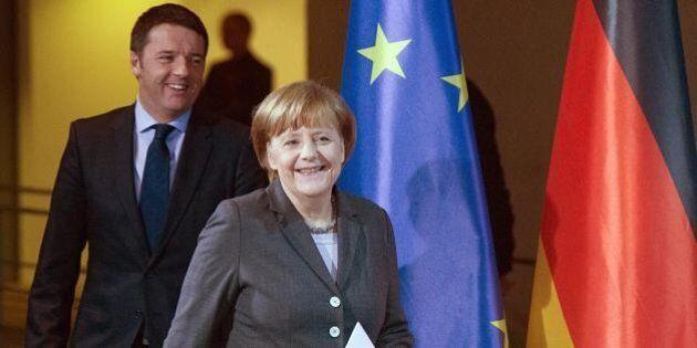 Matteo Renzi non si presenta al Forum italo-tedesco e sventa l'abbraccio della Merkel. Investitori: