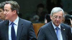 Alla fine Cameron chiama Juncker per