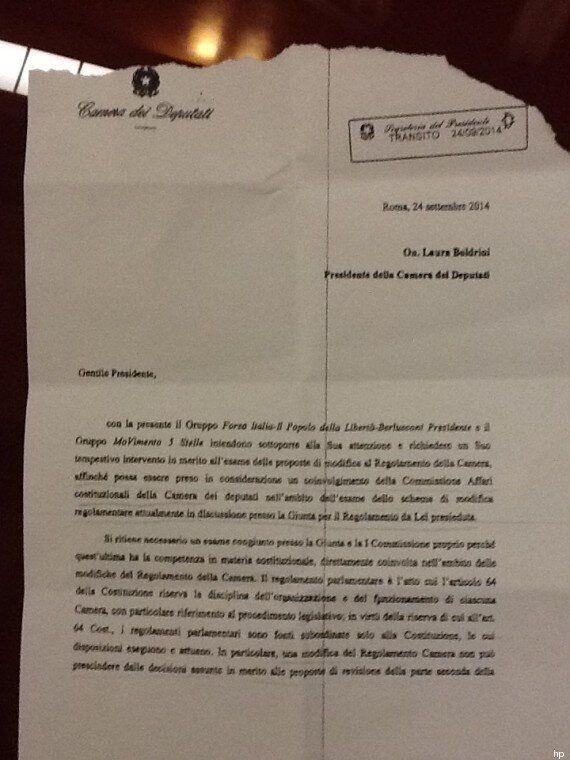 Brunetta contro il Patto del Nazareno. Firma una lettera con M5s: