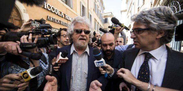 Beppe Grillo sul blog solidarietà alla redazione del Secolo XIX dopo il blitz: