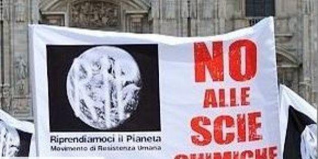 Popolo delle scie chimiche: pronta la mobilitazione nazionale contro le strisce bianche visibili in