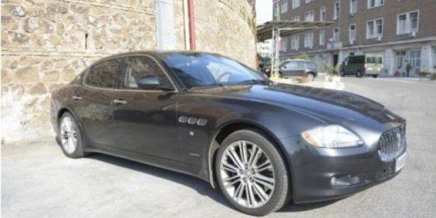 Auto blu: nessuno vuole comprare le Maserati del ministero della Difesa