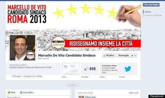 Movimento 5 Stelle, errore di ortografia nello slogan elettorale del candidato sindaco di
