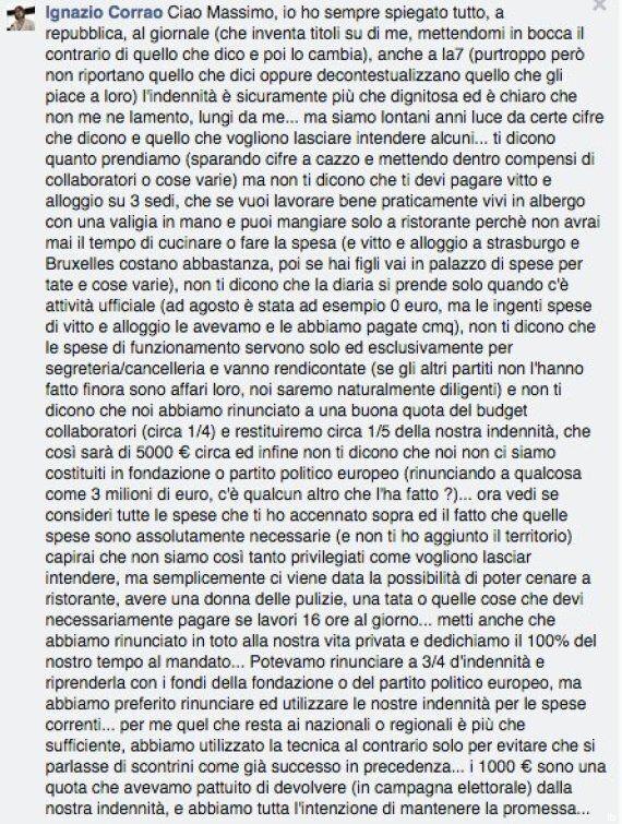 Ignazio Corrao (M5s):