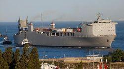 Ecco la nave con le armi chimiche siriane nel porto di Gioia Tauro