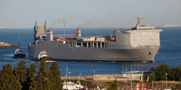 Armi chimiche siriane a Gioia Tauro, la nave laboratorio Usa in porto