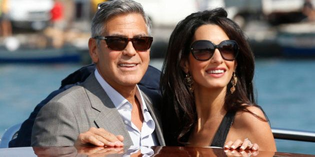 Amal Alamuddin e George Clooney a Venezia per il matrimonio. In laguna su taxi acqueo dal nome