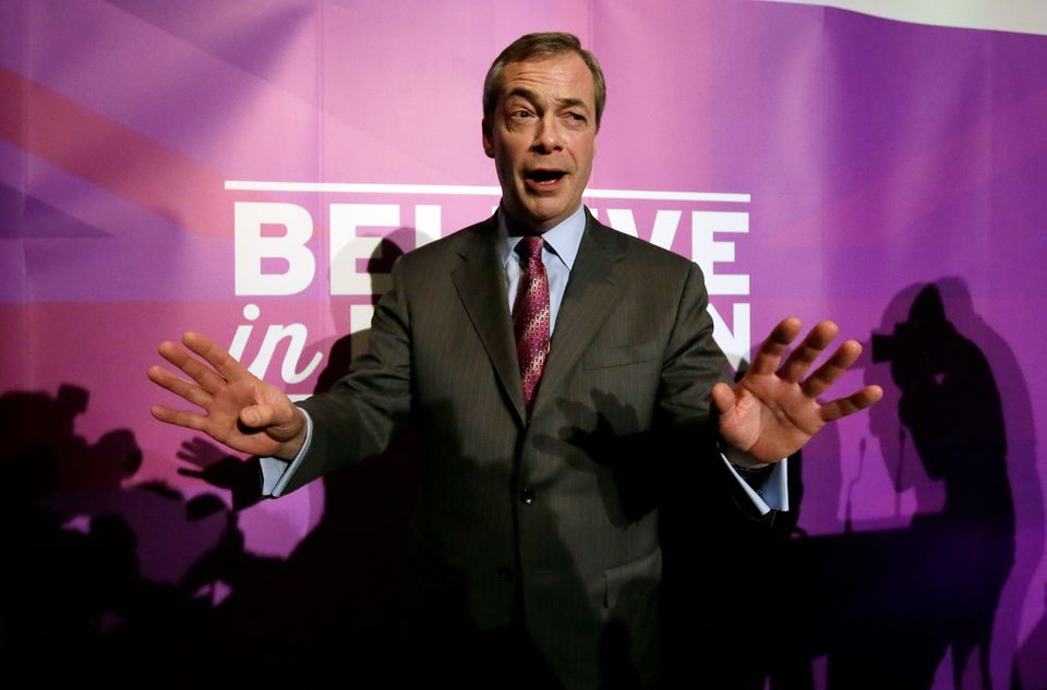 The UK's very own Donald Trump is, beyond doubt, Nigel Farage. The leader of the populist UK Independence party (UKIP) relish
