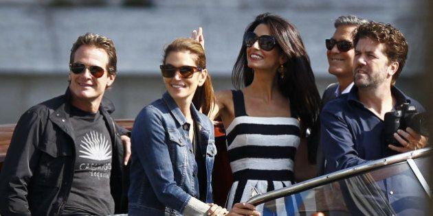 Amal Alamuddin e George Clooney, gli invitati al matrimonio sbarcano a Venezia
