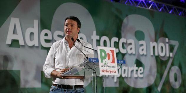 Sondaggio Demopolis: Matteo Renzi al 43%, M5s e Forza Italia calano