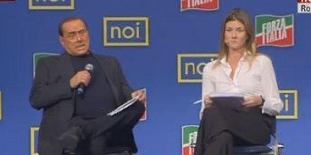 Silvio Berlusconi alla convention di Giovane Italia.