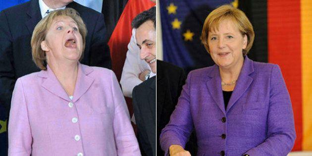 Angela Merkel: il colore delle mie giacche scelto casualmente, nessun simbolismo