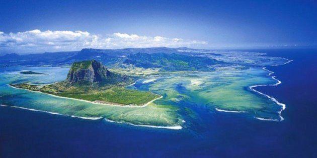 Isola di Mauritius: c'è una cascata sott'acqua?